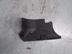 MAZDA MX5 EUNOS (MK1 1989 - 97) RHS LOWER FOOTWELL PANEL - BLACK - DRIVERS SIDE
